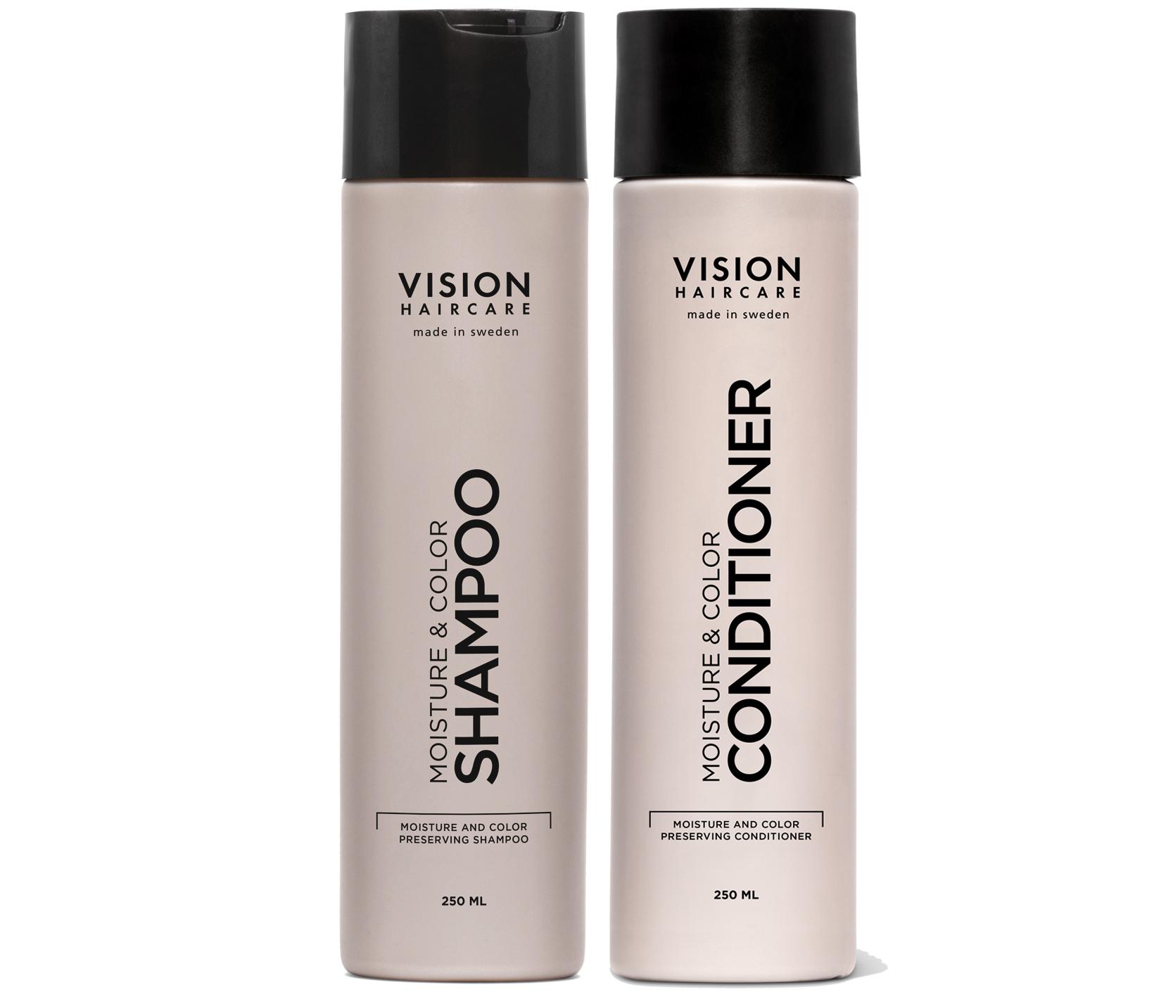 MOISTURE & COLOR SHAMPOO/CONDITIONER